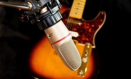 $29 for a Home-Recording-Studio Online Course from Gravy for the Brain ($219 Value)