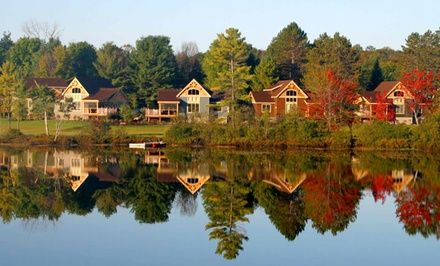 groupon daily deal - 2- or 3-Night Stay for Up to Six at Cottages at Diamond in the Ruff in Muskoka, ON. Combine Multiple Nights.
