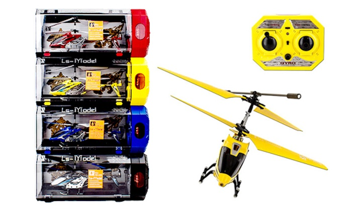 Groupon Goods: 20cm Radio Controlled Helicopter for R292.87 Including Delivery (58% off)