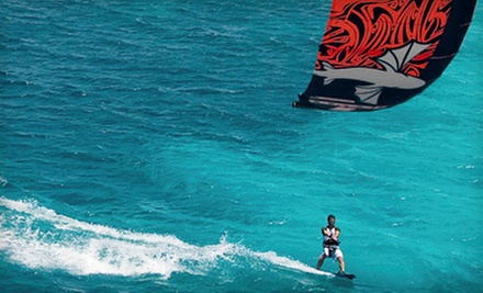 $49 for a One-Hour Group Kiteboarding Lesson from Miami Water Sports in Miami Beach ($99 Value)