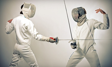 Five-Day Youth Fencing Day Camp or Four Adult or Child Fencing Classes at The Fencers Academy (Up to 68% Off)