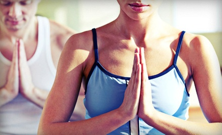 10 Yoga Classes or One Month of Unlimited Yoga for Two People at Beyond Yoga (Up to 56% Off)