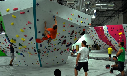 Up to 54% Off Climbing Gym Passes w/ Equipment at Origin Climbing and Fitness