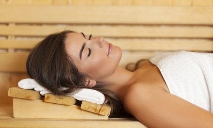 One or Three  Infrared Sauna Sessions or Detox Package at Divine Detox Inc. (Up to 53% Off)
