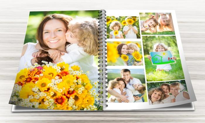 Álbum de fotografias personalizado e encadernado com argolas desde 6,99€