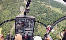 $139 for a 45-Minute Helicopter or Airplane Piloting Experience from United Aviation Academy ($250 Value)