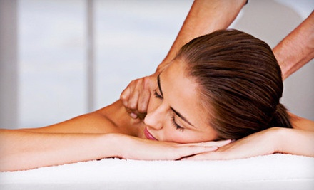 One, Three, or Five 60-Minute Massages, or a Chiropractic Consult at Everybody's Health (Up to 76% Off)