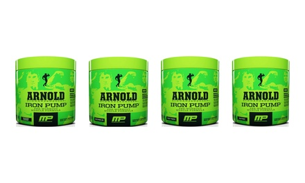 30 Servings of Muscle Pharm Arnold Schwarzenegger Series Iron Pump Preworkout Muscle Formula