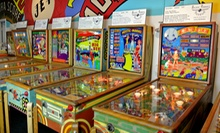 Visit for One Adult or Two Adults and Two Children to Pacific Pinball Museum (Up to 53% Off)