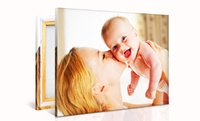 GROUPON: Up to 90% Off Custom Photo Canvas PrinterPix