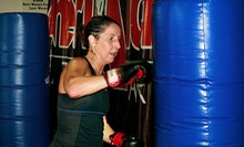 One or Three Months of Unlimited Cardio Kickboxing Classes at AmeriKick Martial Arts (Up to 68% Off)