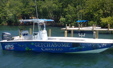 $75 for a Five-Hour Fishing Charter from Getchasome Charters ($160 Value)