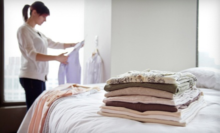 $49 for One Month of Weekly Laundry Service with Pickup and Delivery from Luna Laundry ($100 Value)