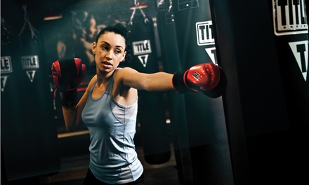 Two Weeks or One Month of Unlimited Boxing Classes at TITLE Boxing Club (Up to 59% Off)