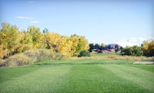 9-Hole Round with Cart and Range Balls for Two or Four at Family Sports Golf Course in Centennial (Up to Half Off)