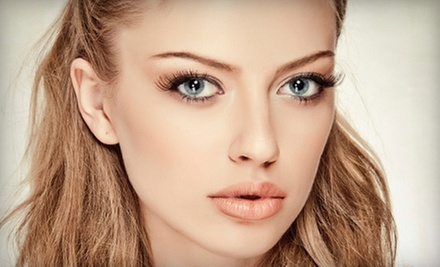 One Full Set of Eyelash Extensions with One or Two Touchups at Luscious Lashes (Up to 73% Off)
