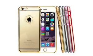 Lax Slim Protective Clear Electro Case For Iphone 6