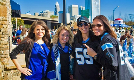Entry to Miller Lite Panther's Season Opener Pep Rally and Bar Crawl for Two or Four on September 11 (50% Off)