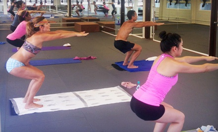 8 or 16 Yoga Classes at One With 8 (Up to 65% Off)