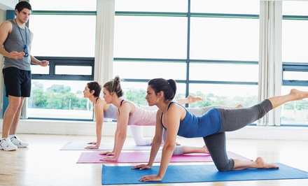 5 or 10 Drop-In Yoga Classes, or One Month of Unlimited Classes at Yoga in Motion (Up to 70% Off)