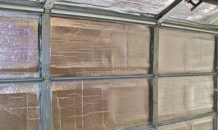 Overhead Door Insulation Kit Review Insulfoam Garage
