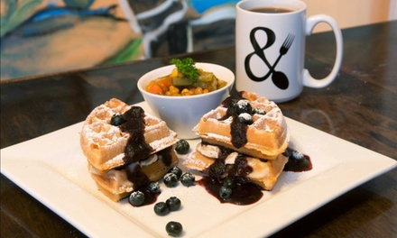 Southern Brunch for Two or Four or More, or Takeout at biscuits & buns on banks (48% Off)
