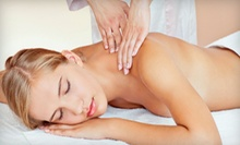 Massage with Optional Back Exfoliation, Infrared Body Wrap, or Four Massages at Gentle Illumination (Up to 57% Off)