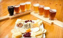 Gourmet-Cheese Plate and Craft-Beer Flights for Two or Four at Über Tap Room at Wisconsin Cheese Mart (Up to 52% Off)