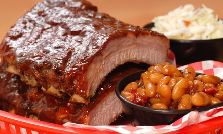 $12 for $20 Worth of Barbecue — Uncle Bob's BBQ on the Lake