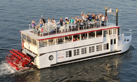 Narrated Sightseeing Cruise for Two or Sunset Dinner Cruise for Two from Lady of the Lake Cruise (Up to 45% Off)