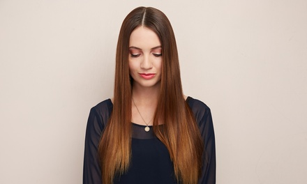 Haircut and Fusion Extensions with Optional Two Months of Maintenance at Majaie's Expressions (50% Off)