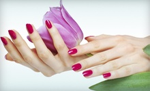 One Basic Manicure or Spa Pedicure from Stephanie at Euphoria Salon & Spa (Up to 51% Off)