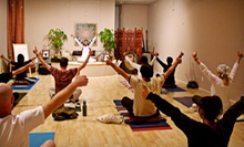 10 or 20 Yoga Classes at Seventh Chakra Yoga in Huntington Beach (Up to 83% Off)