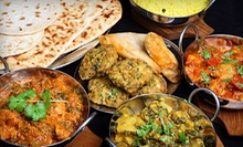 Indian Food at Taj Palace Indian Restaurant (Half Off). Two Options Available.