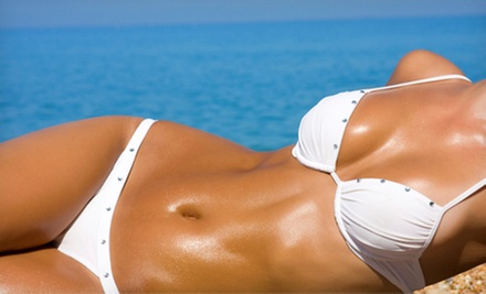 One, Three, or Six Infinity Sun Sunless Tans at Vitality Skin Care and Massage (Up to 60% Off)