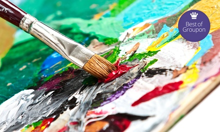 $24 for One Adult Painting Event at Whimsy Paint and Sip Art Studio ($45 Value)