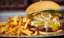 $12 for Two Craft Burgers with Sides at Burgh'ers Restaurant (Up to $23.98 Value)