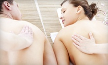 $79 for 60-Minute Couples Massage with Aromatherapy and Sugar Foot-Scrub Treatment at Art Salon &amp; Spa ($180 Value)