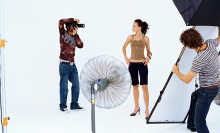 $75 for an In-Studio Photo-Shoot Package with a CD and Two Sheets of Images at Portrait Perfection ($179.48 Value)