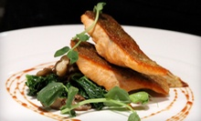 "Four-Course ""Down to earth"" Prix Fixe Dinner of Locally Sourced Cuisine for Two or Four at earth (Up to 54% Off)"