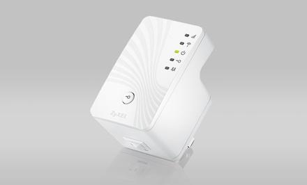 ZyXEL Universal N300 Wireless Range Extender