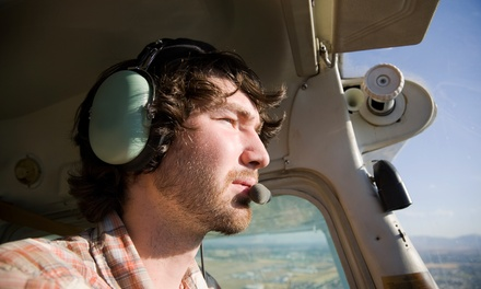 $109 for One 90-Minute Flight Lesson with Ground Work and Flight Log at Genesis Flight Academy($200 Value)