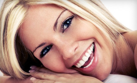 $29 for a 45-Minute Teeth-Whitening Treatment at Pearly Whites Express. Three Locations Available. ($139 Value)