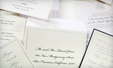 Stationery and Gifts or Wedding Invitations at Papers Unique & Gifts! (Up to Half Off)