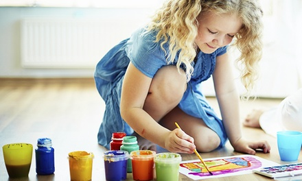 Art Classes and Mobile Art Party from The Magic Brush (Up to 58% Off). Five Options Available.