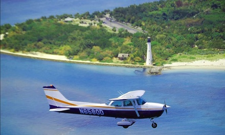 Aerial Tour of Miami for Two or Four from ATA Flight School (38% Off)
