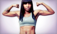 5 or 10 Women's Kickboxing Fitness Classes at Hip + Fit (Up to 75% Off)