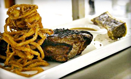 Five-Course Upscale Dinner with Cabaret Entertainment for Two at CY Steak (Half Off)