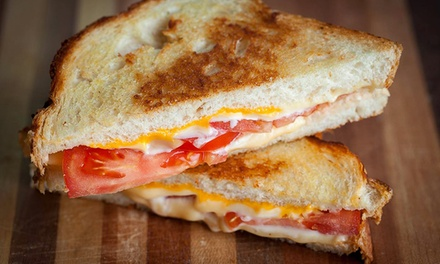 Grilled Cheese, Appetizers, and Salads for Two During Dinner or Lunch at Paddy Jack's (40% Off)