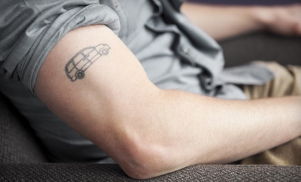 Three Laser Tattoo-Removal Sessions for Up to 3, 6, or 14 Square Inches at MEDermis Laser Clinic (Up to 75% Off)